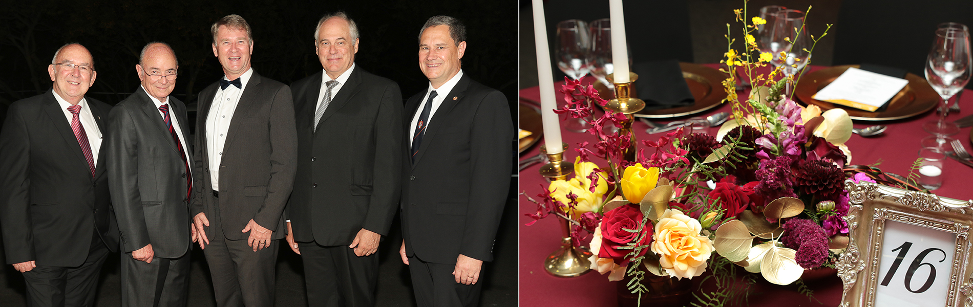 Faculty of Engineering celebrates 75 years with festive Gala Dinner