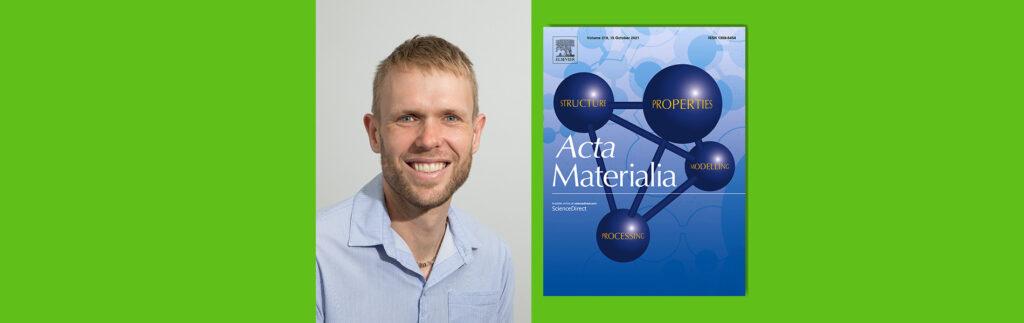 M&M Extraordinary Associate Professor published in Acta Materialia journal