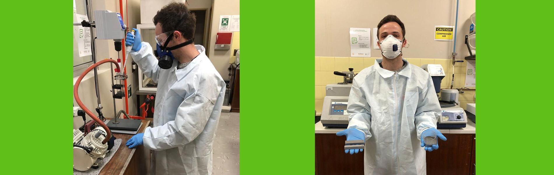 postgraduate biomedical implants gel-casting